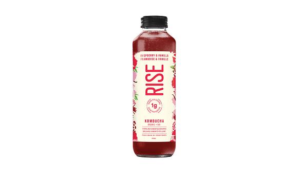 Organic Raspberry Vanilla Kombucha