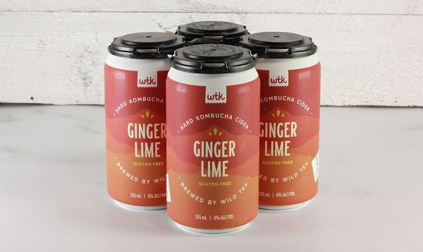 Wild Tea Ginger Lime Hard Kombucha
