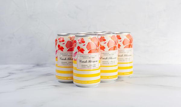 Vodka Soda - Pineapple Hibiscus