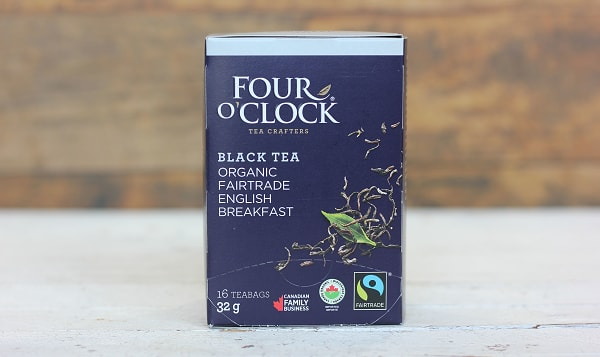 Organic Four O'Clock English Breakfast Black Tea