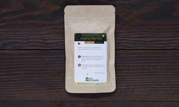 Cream of Earl Grey Loose Leaf Tea