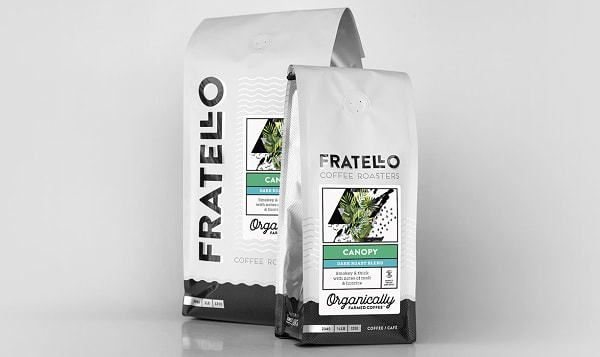 Organic Canopy Dark Roast Coffee Beans