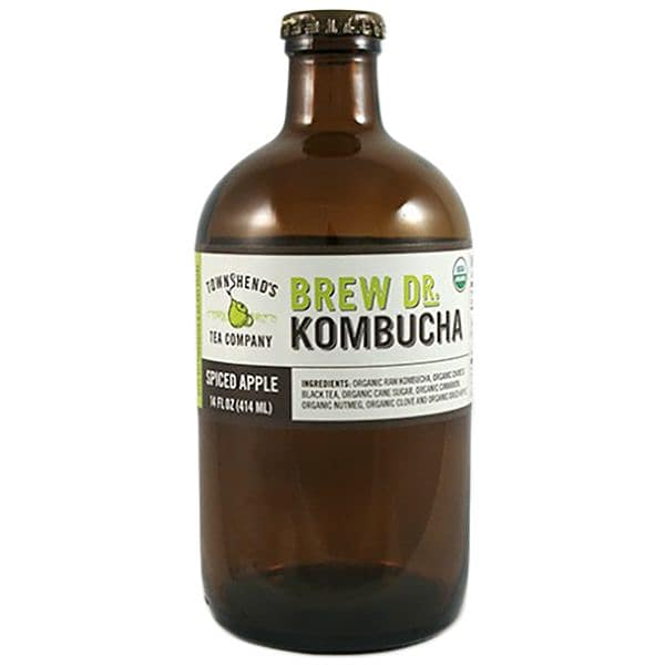 Organic Spiced Apple Kombucha
