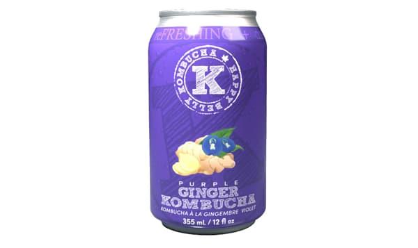Organic Purple Ginger Kombucha