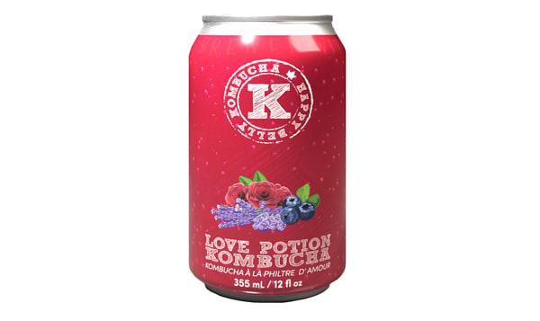 Organic Love Potion Kombucha