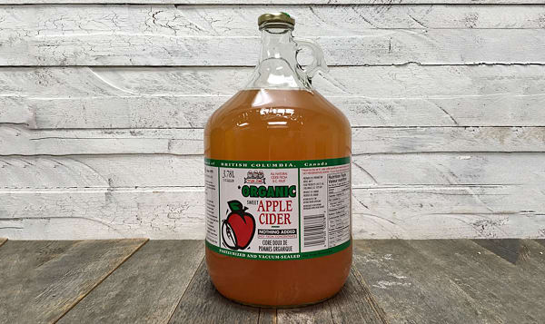 Organic Sweet Apple Cider