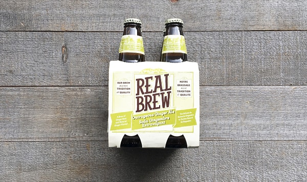 Real Brew Ginger Ale