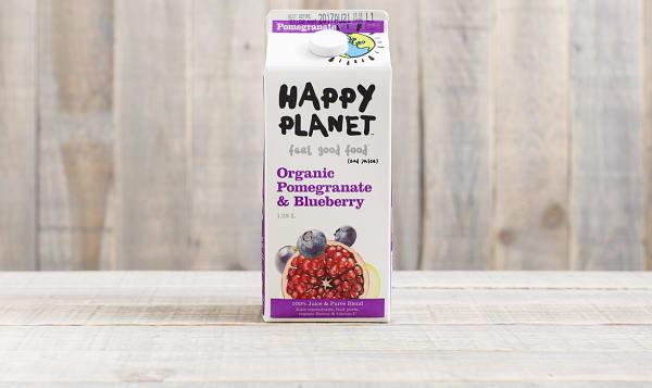 Organic Pomegranate Blueberry Juice