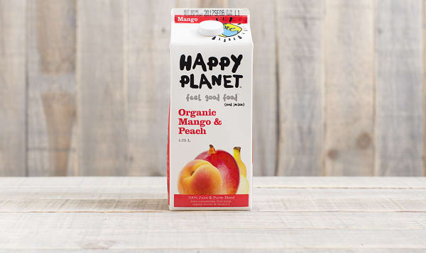Organic Mango Peach Party Juice