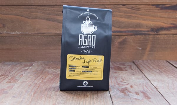 Organic Colombia Light Roast Coffee