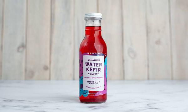Organic Hibiscus Water Kefir