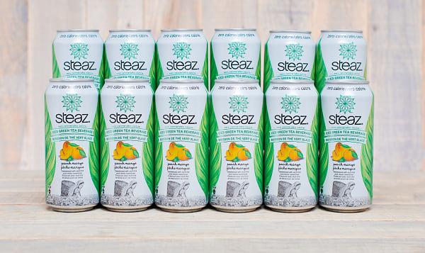 Zero Calorie Peach Mango Ice Tea - CASE