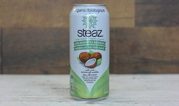 Organic Green Tea with Coconut Water