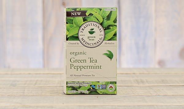 Organic Green Tea Peppermint