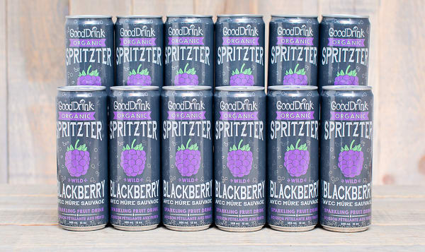Organic Wild Blackberry Spritzter - CASE