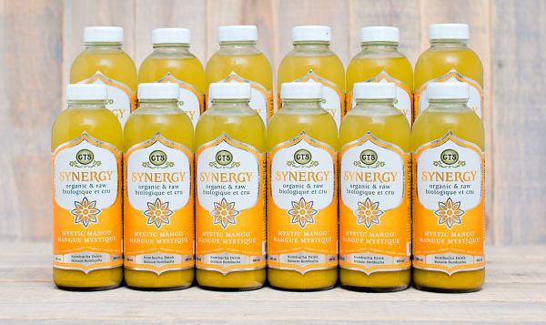 Organic Mystic Mango Kombucha - CASE