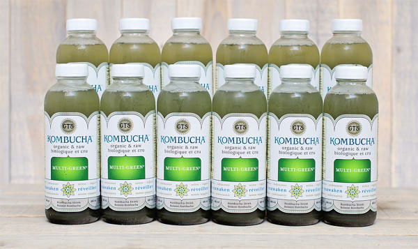 Organic Multigreen Kombucha - CASE