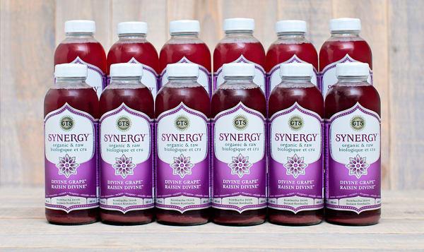 Organic Divine Grape Kombucha - CASE