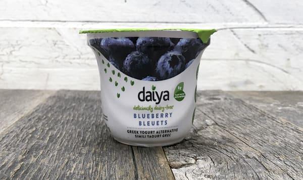 Blueberry Dairy-Free Yogurt
