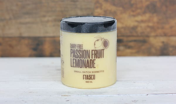 Passion Fruit Lemonade Sorbetto (Frozen)