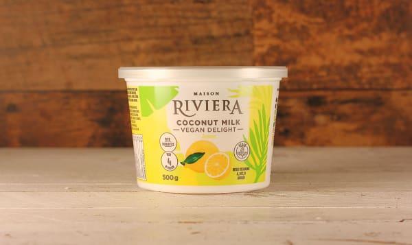 Lemon Coconut Yogurt
