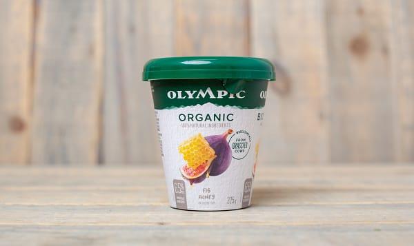 Organic Grass Fed Fig & Honey Yogurt - 6.5% MF