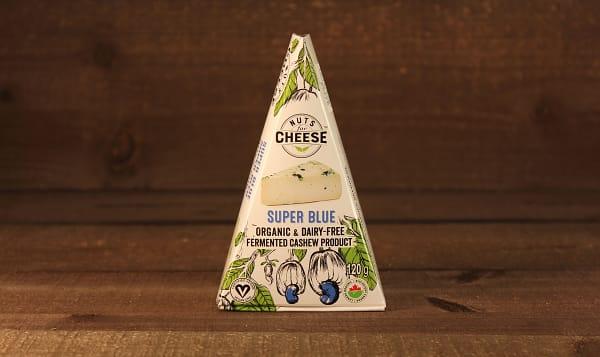Organic Cultured Cashew Cheese- Super Blue