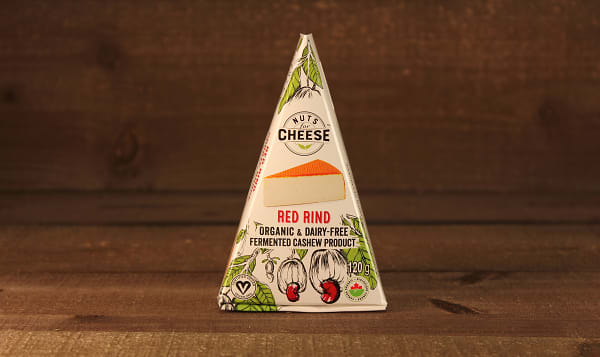 Organic Cultured Cashew Cheese- Red Rind