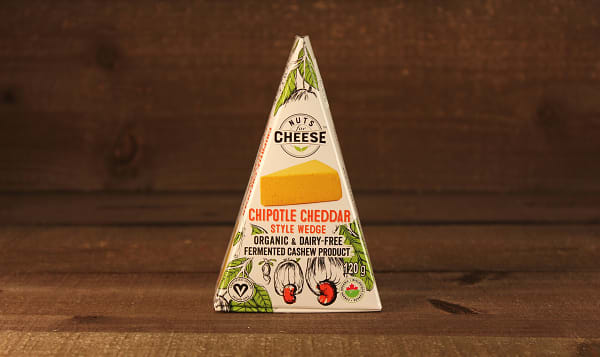 Organic Cultured Cashew Cheese - Chipotle Cheddar