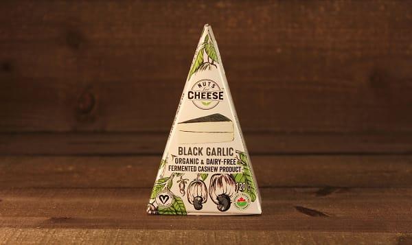 Organic Cultured Cashew Cheese- Black Garlic