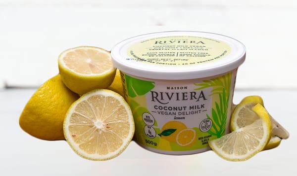 Coconut Vegan Delight - Lemon