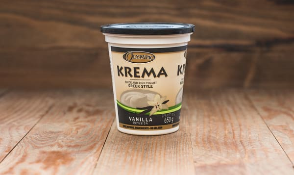 Krema Greek Style Vanilla Yogurt - 11% MF