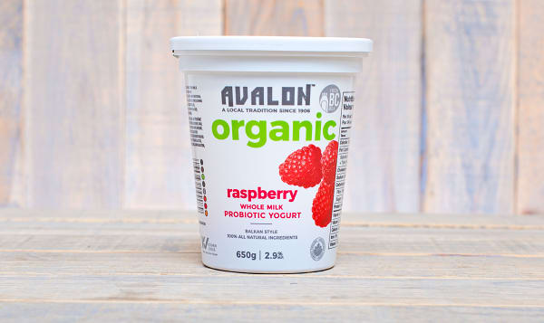 Organic Raspberry Yogurt - 2.6% MF