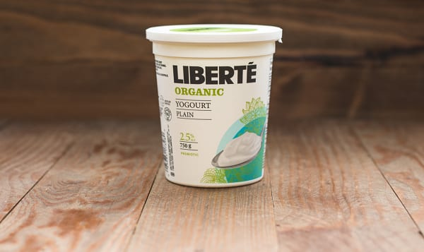 Organic 2.5% Fat Yogurt - Plain