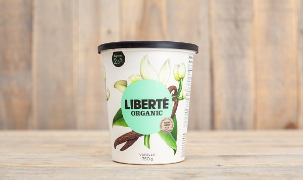 Organic 2.5% Fat Yogurt - Vanilla