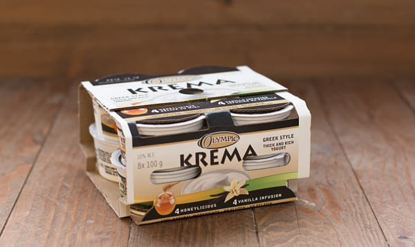 Krema Vanilla Honey Multipack - 9/10% MF