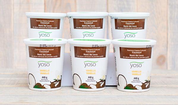 Cultured Coconut Yogurt - Vanilla - CASE