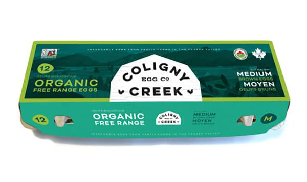 Organic Medium Eggs