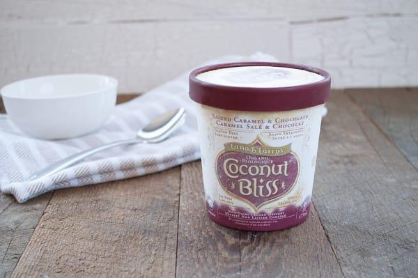 Organic Salted Caramel & Chocolate Coconut Milk Dessert (Frozen)