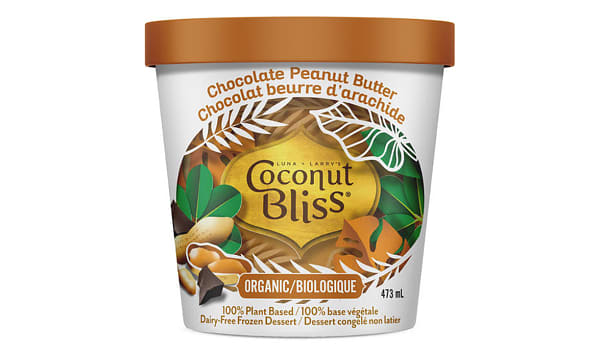 Organic Chocolate Peanut Butter Frozen Coconut Milk Dessert (Frozen)