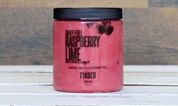 Raspberry Lime Sorbetto (Frozen)