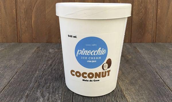 Coconut Ice Cream (Frozen)