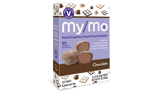 Dairy-Free Chocolate Mochi Ice Cream (Frozen)