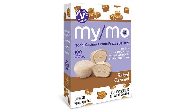 Dairy-Free Salted Caramel Mochi Ice Cream (Frozen)