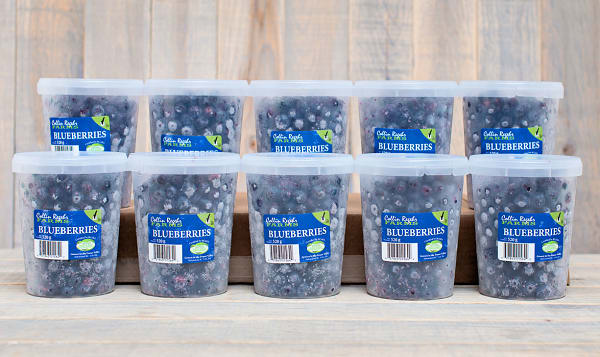 Organic Blueberries - CASE (Frozen)