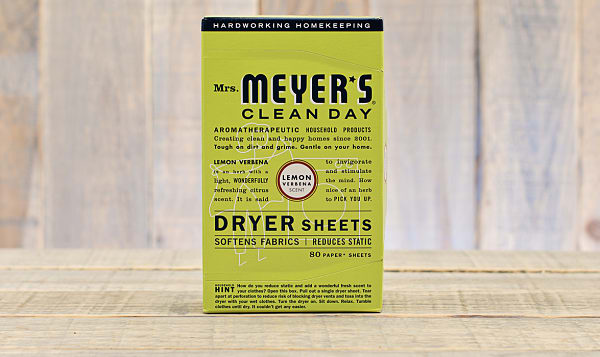 Lemon Verbena Dryer Sheets
