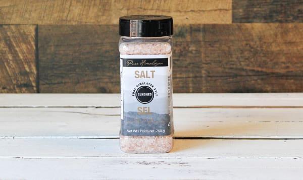 Coarse Himalayan Pink Salt Jar