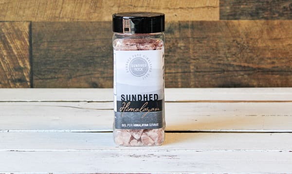Rock Salt Jar