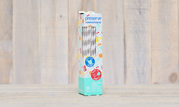 Compostable Straws - Natural