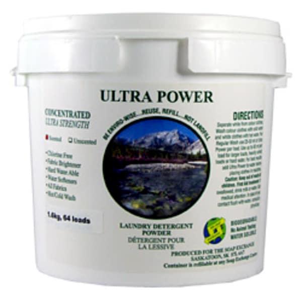 EnviroWash Laundry Detergent - Lemon Scented (*formerly UltraPower)